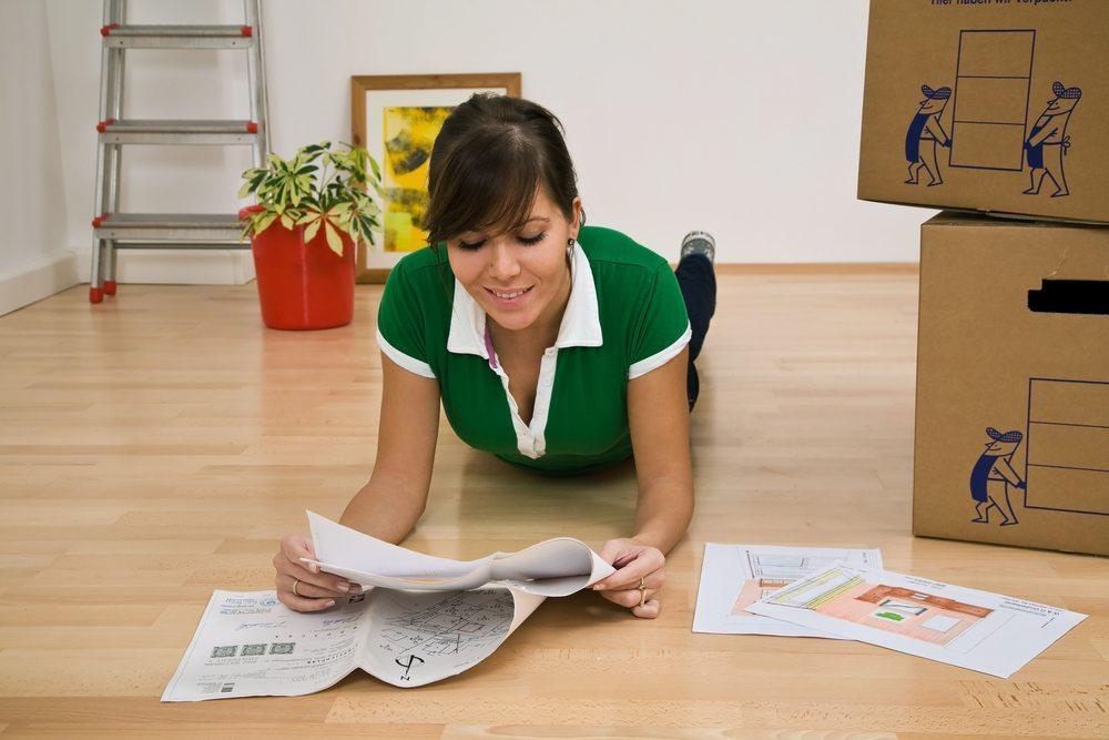 Meist wird die Zimmer-Planung dann nötig, wenn ein Umzug ansteht. (Bild: © Lisa S. - shutterstock.com)