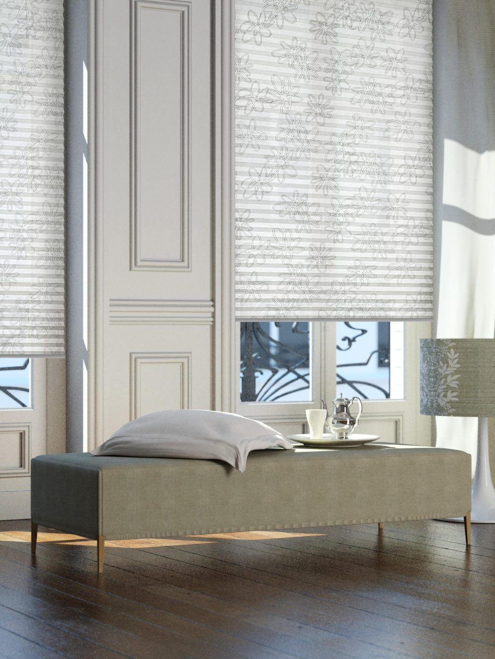 Plissees von sensuna® passen an jedes Fenster. (Bild:  © sensuna®)