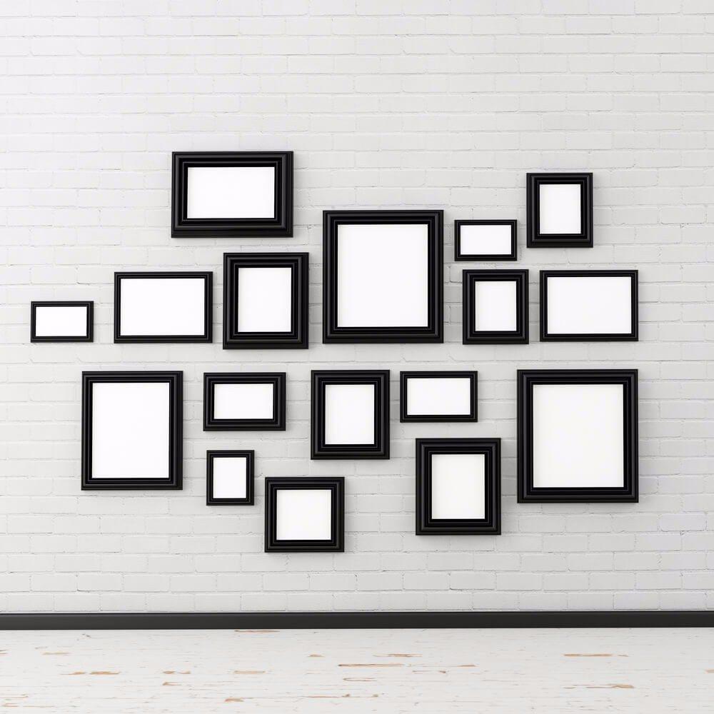 4 tipps wie sie mit wenigen n geln viele bilder an die wand bekommen. Black Bedroom Furniture Sets. Home Design Ideas