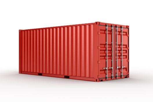 Mietcontainer helfen beim Umzug. (Bild: zentilia – shutterstock.com)