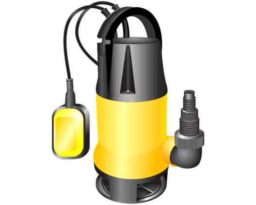 Eine Tauchpumpe leistet nützliche Dienste. (Bild: Elena Podolny - shutterstock.com)