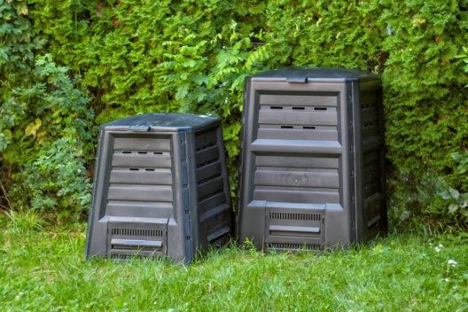 Komposter liefern wertvollen Humus. (Bild: Gabor Havasi - shutterstock.com)